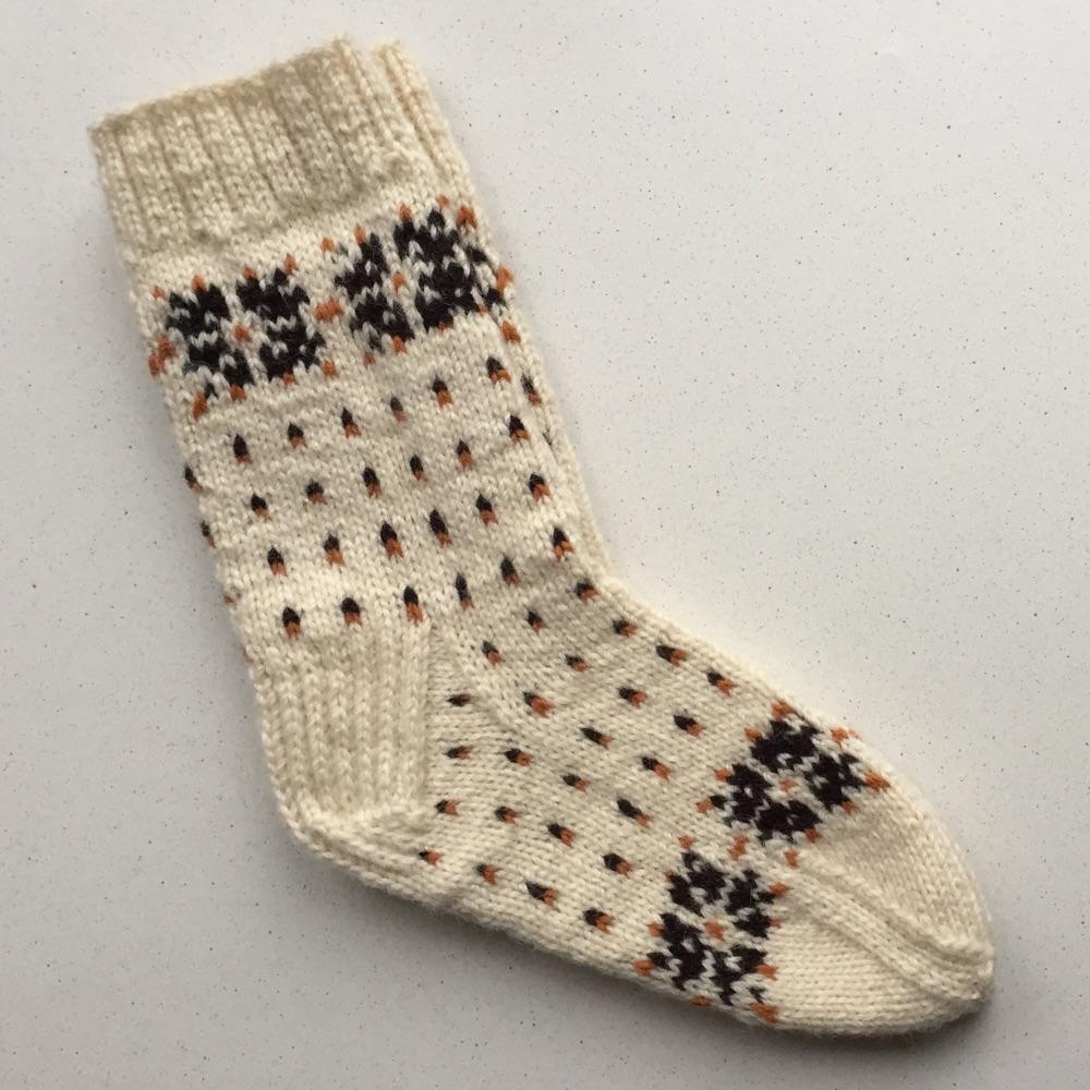 Moteriškos vilnonės kojinės #348